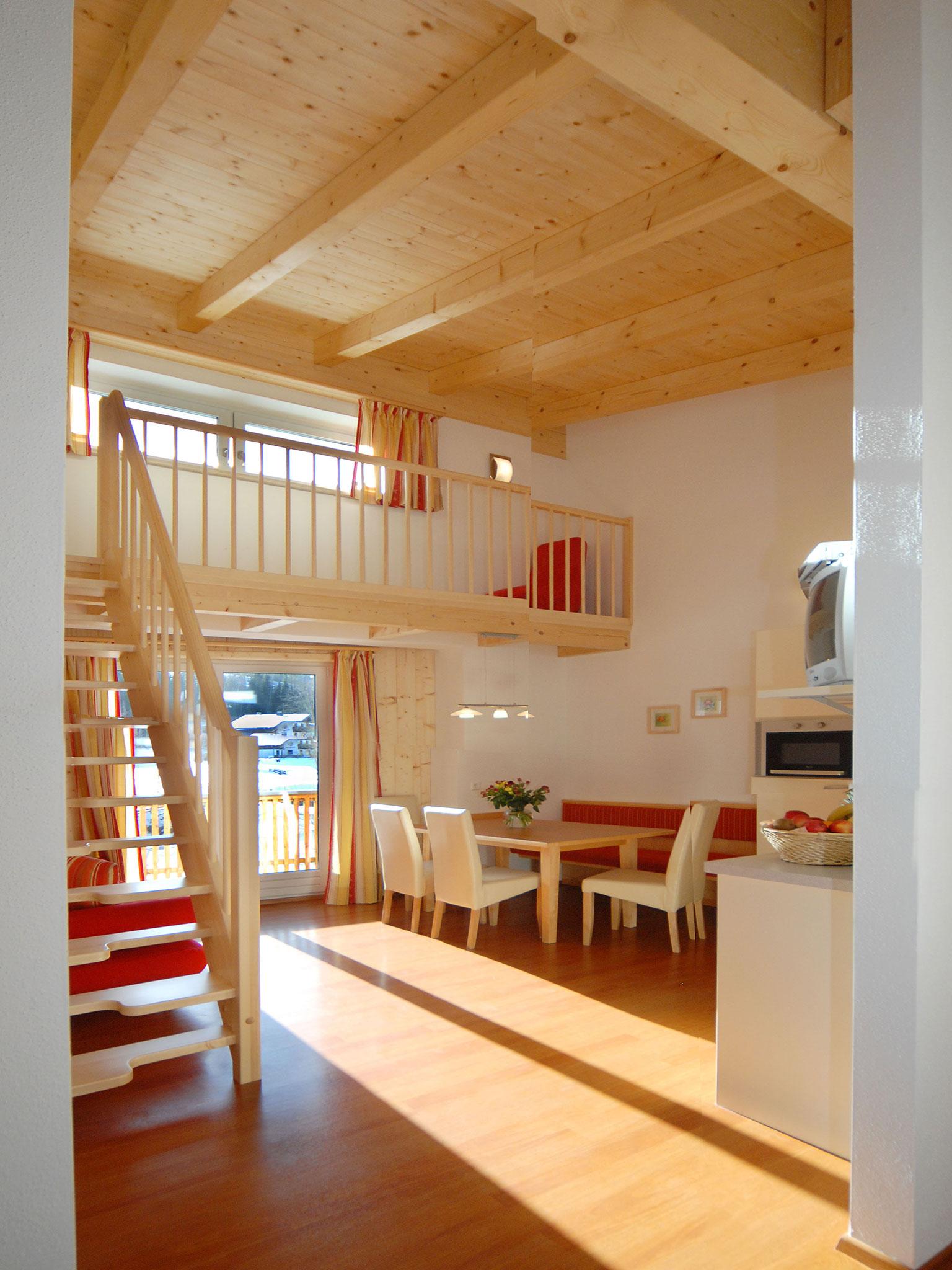 Wohnbereich der Maisonette