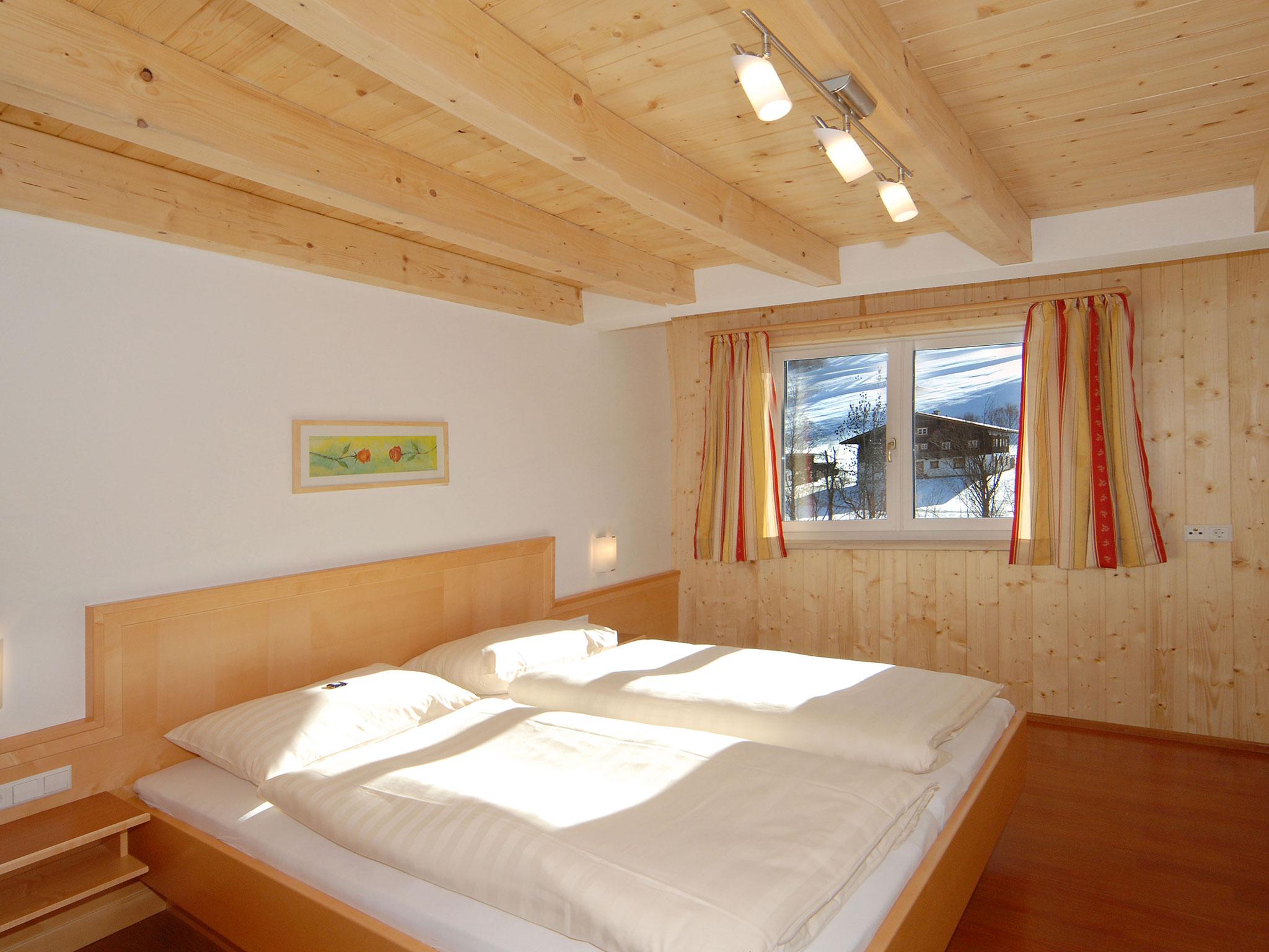 Schlafzimmer in der Maisonette